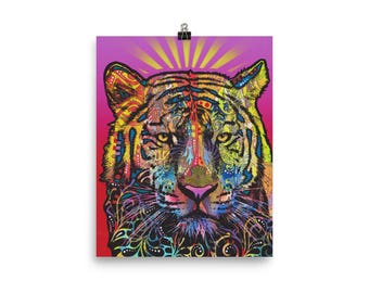 Regal (Tiger) Open Edition Print