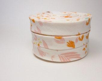 Bias Tape - 1/2 Inch - Gentle Breeze Floral - 3 yards