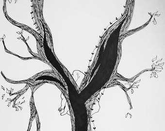 Tree in the lungs