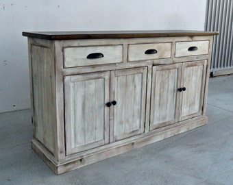 Beautiful Sideboard, Server, Console Cabinet, Reclaimed Wood, Buffet, Vintage, Rustic,
