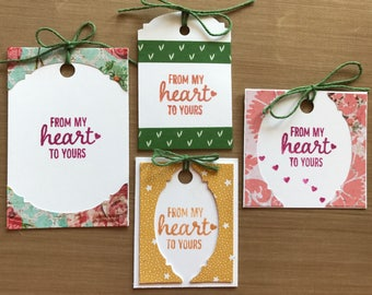 From My Heart To Yours Gift Tags
