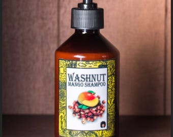 Washnut Mango shampoo  Gently cleans your scalp without taking the moisture from your hair