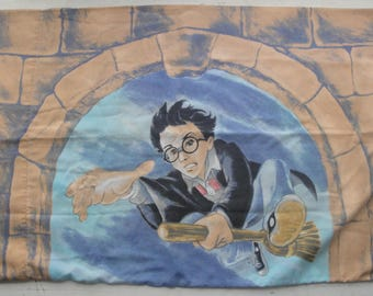 Harry Potter Twin Sheet Set Flat Fitted Fabric