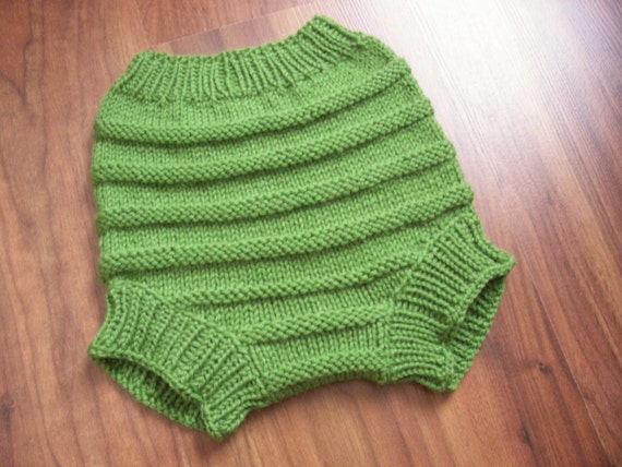 Hand Knitted Wool Cloth Diaper Cover Soaker Wool Nappy Cover