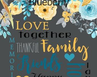 Friends & Family 8x10 digital print