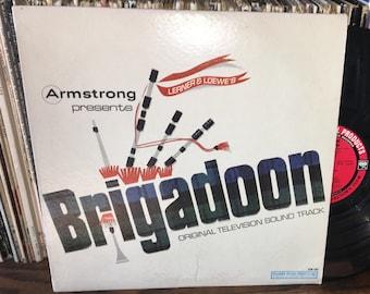 Armstrong Brigadoon Vintage Vinyl Original Television Soundtrack Record
