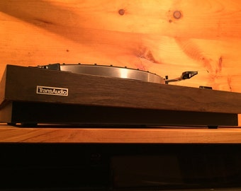 SALE ! Rare Technics Transaudio Model 1800 Auto Return Turntable Record Player Stereo Phonograph Plinth 70s Wood Vintage Hi-Fi Japan
