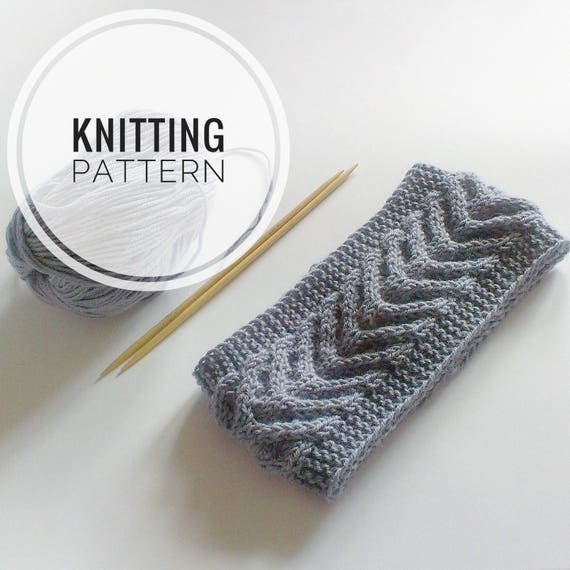 Knitting PATTERN Headband Knitting instruction Knitting Tutorial PDF ...
