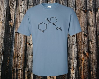 Nicotine Molecule T-shirt