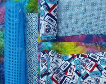 Unpaper Towels- Retro Cassettes Reusable Eco friendly