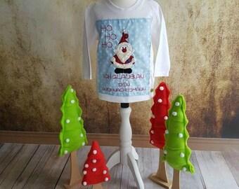 Christmas shirt ho ho ho Santa Claus