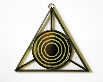 "Triangle ""All Seeing Eye"" Mirror 