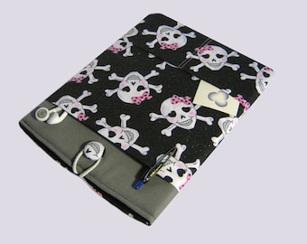 iPad Air Case, iPad Air Sleeve, iPad Air 2 case, Sony Xperia case, Galaxy Note Tab Cover, Kindle Fire 8.9, Lenovo Yoga Tablet Case, Skulls