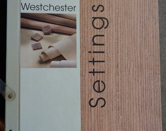 Wallpaper Sample Book Westchester Settings Blonder Home Accents