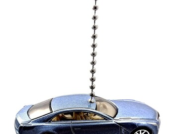 Cadillac ElmiraJ Light Blue Diecast Ceiling Light Fan Pull Ornament - Hot Wheels Models
