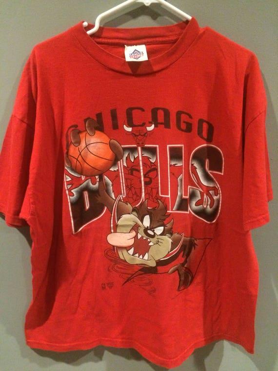 1995 Chicago Bulls Taz shirt rK1TJb7YHm