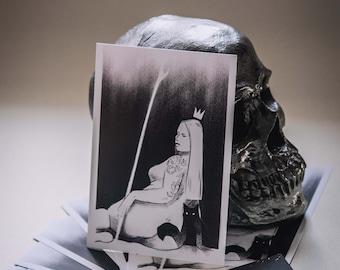 Tarot Queen Print