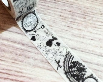 Alice in Wonderland Washi Tape from Japan