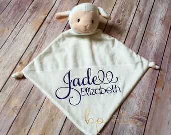 Cubbies® Personalized Baby Security Blanket - Baby Shower - Newborn - Gift - Blankie - Personalized Baby Gift