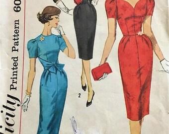 Simplicity #3220 Vintage One Piece  Dress Pattern Size 14