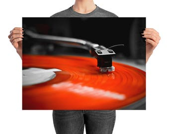 Put the Needle to the Record - Hip-Hop DJ wall art