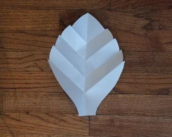 Large Paper leaf