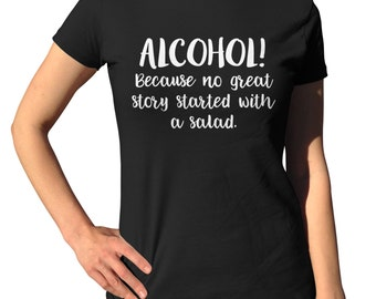 Alcohol Shirts - Alcohol Gifts - Vodka Gifts - College Shirt - Alcoholic Shirt - Beer Gift - Wine Shirt - Alcohol Tee - Party Gift