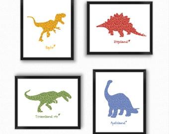 Dinosaur print Etsy
