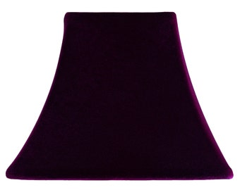 Dark Plum Velvet - SLIP COVERS for lampshades