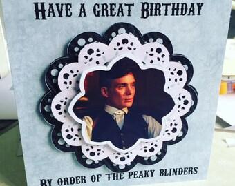 Peaky Blinders Birthday Card