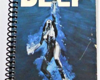 VHS Recycled Notebook, Journal, The Deep, Robert Shaw