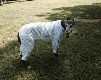 Greyhound pajamas see fabric choices