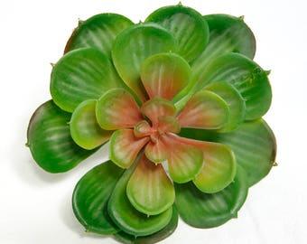 Fake succulent, succulent, Red Burgundy succulent, faux echeveria, artificial succulent, succulent arrangement, centerpiece