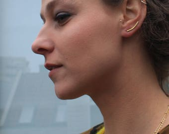 Ear crawler, ear climber, gifts for her, christmas gifts, Gifts under 30, climber earrings, earring climbers, ear pin earrings, ear cuff
