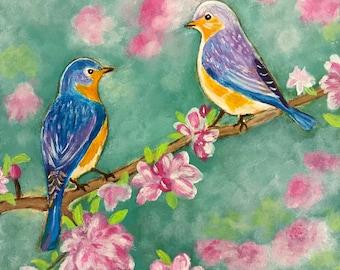 Cute little birdies #9 - 6 x 6