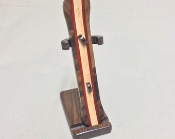 Snowboard & stand, handmade wooden toys, handcrafted, baldwin toys, gift