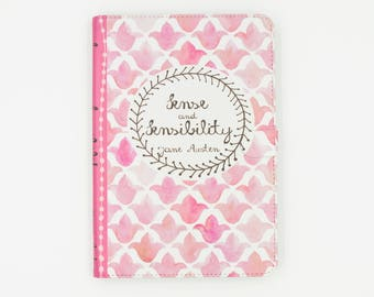 Jane Austen Sense and Sensibility Book iPad, iPad Air, iPad Pro case