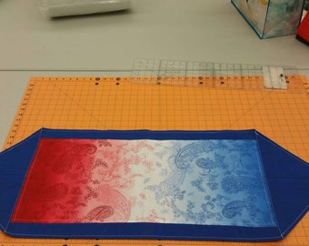 4 of July table runner
