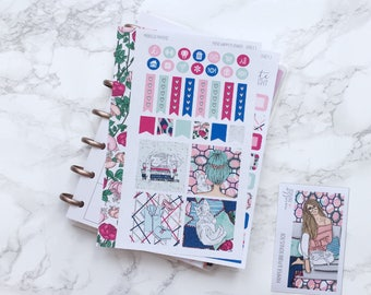 Pamper & Purr MINI Planner Sticker Kit - For Mini Happy Planners, Personal Inserts, TNs