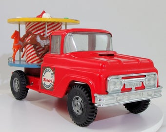 Vintage Buddy L 1967 Merry-Go-Round/Carousel Truck