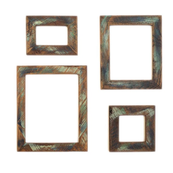 20x30 Picture Frame Reclaimed Wood Frame Custom Color Wood