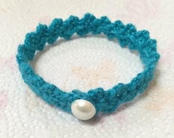 Crocheted Bracelet, Crochet Jewelry, Handmade Jewelry