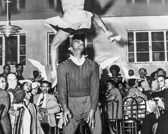 Dance Photo of Lindy Hoppers Frankie Manning, Ann Johnson, 1941