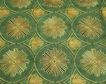 Gilded Holiday fabric by the 1/2 yard