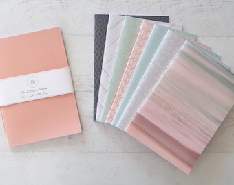 Coastal Softcover Notebook Travel Notebook Stationery Gift for Writer Hand Bound 32 Lined White Pages *** Sold Individually ***