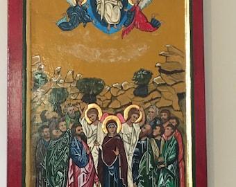 ASCENSION of Jesus Christ - ICON - ORIGINAL