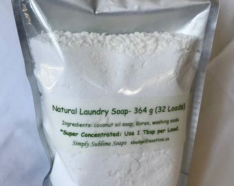natural laundry soap / unscented laundry soap / laundry detergent / simply sublime soaps / Halifax / Hubbards / laundry soap / HE washer