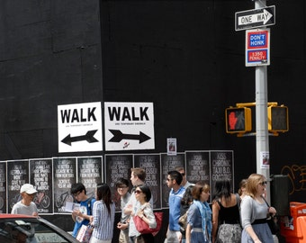 New York City Wall Art, NYC Print, New York Photography, Manhattan Print, Street Photography, Deborah Julian