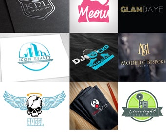 PROFESSIONAL Custom Logo Design package