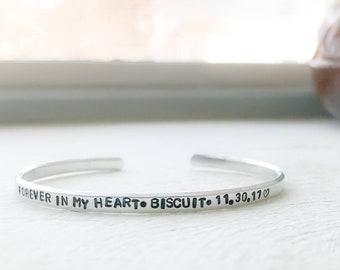 Pet memorial bracelet, Dog memorial jewelry, Memorial pet bracelet, Pet loss bracelet, Dog memorial dog, Cat memorial cat, Pet sympathy pet